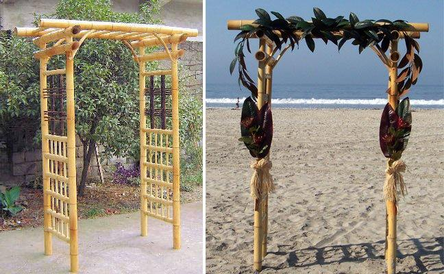 Wedding Decoration Using Bamboo Choice Image - Wedding Dress ...